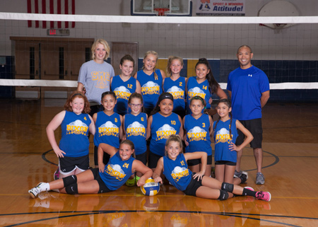 St. Mary Volleyball Team 6th Grade